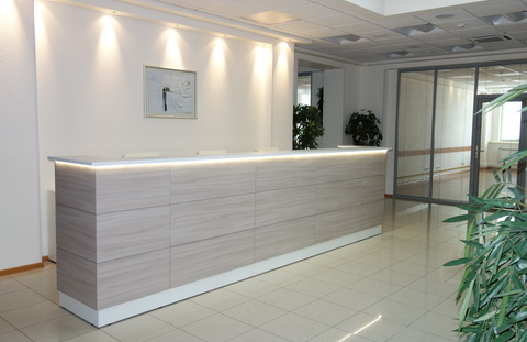 Стойки ресепшн Reception Steel